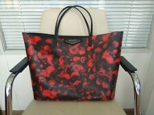 100% Authentic GIVENCHY Antigona Shopping Tote Bag Floral print Large Size