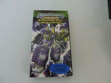Transformers Energon Shockblast MOVIE VHS RARE Classics Shockwave Laserwave