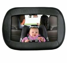 Baby Car Mirror | Large Adjustable Strap | Baby Safety Mirror | Clear Wide View