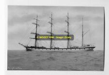 rp6893 - Sailing Ship - Dunfermline - photo 6x4