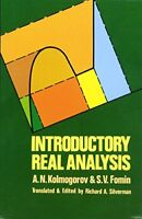 Dover Books on Mathematics: Introductory Real Analysis by A. N. Kolmogorov...