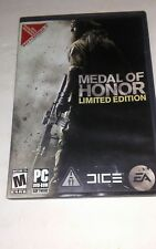 Medal of Honor (PC, 2010) Limited Edition - Case, Disc, and Key Code