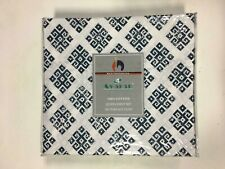 Avaran 100% Cotton Queen Sheet Set Blue Printed Color 300 Ct