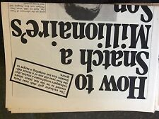 A2p ephemera 1970s article eric peaugeot 1960