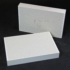 2x Keramiklötplatte 150mm x 100mm gelocht Lötunterlage
