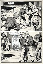CREATURE DES NEIGES (ESPINOSA/JIMMY GUIEU) PLANCHE  AREDIT PAGE 182 YETI