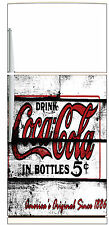 Sticker fridge appliances deco kitchen vintage Coca Cola 60x90cm Ref 2001