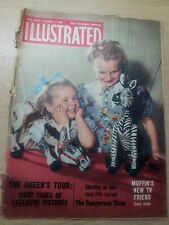 VINTAGE MAGAZINE: ILLUSTRATED - The Queen's Tour, 19th December 1953