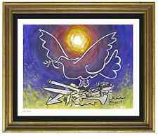 "Pablo Picasso Signed/Hand-Numbered Ltd Ed ""Dove of Peace"" Litho Print (unframed)"