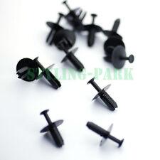 20pcs Nylon Rivet Fastener Bumper Mud Guard Flap Push Plastic Pin Clips for BMW