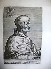 ADRIANUS VI,papa,OLANDA,incisione originale