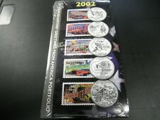 2000 GREETINGS FROM AMERICA COIN & STAMP SET