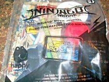 McDonald's The Lego Ninjago Movie Journal with Pencil Kid's Meal Toy NIP #1
