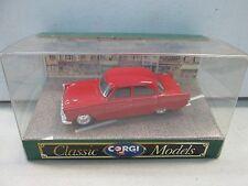 Classic Corgi Model Ford Zephyr Saloon D710 Red 1:43