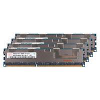 16GB Kit 4x4GB PC3-10600R DDR3-1333MH RAM ECC FB-DIMM Server Memory For Hynix Y
