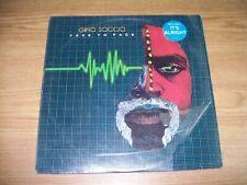 LP RECORD ALBUM GINO SOCCIO FACE TO FACE
