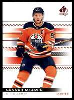 2019-20 SP Authentic Limited Red Connor McDavid #19