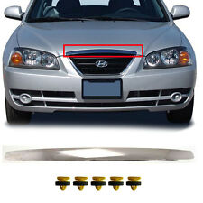 Font Hood Bonnet Chrome Molding Clips For Hyundai 2001-2006 Elantra OEM Parts
