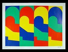 Marcel Bagus 1970-Gelsenkirchen/caratteri/LITOGRAFIA, firmato a mano
