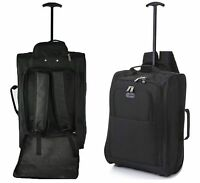 Cabin Approved Multi-use Carry On Flight Bag Luggage Trolley Bag Backpack 21""
