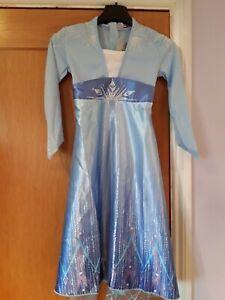 Girls Frozen Elsa Dress Age 4-5