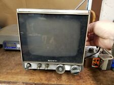 "Vintage Sony TV-940 Retro 10"" Solid State Television TV"
