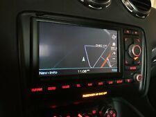 RADIO STEREO NAVIGATION SCREEN ASSEMBLY OEM 74K 08-09 AUD TT TTS TTR MK2