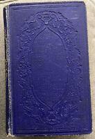 Poetical Works of John Greenleaf Whittier 1857 Vol. I Ticknor & Fields Antique
