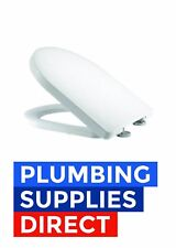 * Roper Rhodes Diode D Shape Soft Close White Toilet Seat - 8903WSC