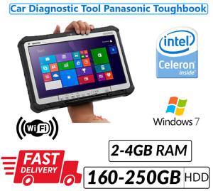 Auto Diagnose Werkzeug Panasonic Toughbook CF-19/CF-D1 2/4GB 160/250GB HDD