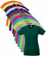 Coton Uni Femmes T-Shirt Slim Long Longueur T Shirt T-Shirt