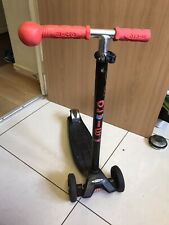 Maxi Micro Scooter Black - Children's Scooter.