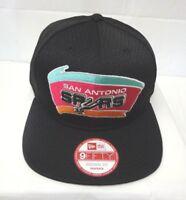 San Antonio Spurs Men's New Era 9FIFTY Jersey Mesh Snapback Cap Hat