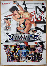 Rumble Roses RARE PS2 51.5 cm x 73 Japanese Promo Poster