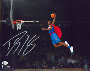 Magic Dwight Howard Authentic Signed 11x14 Superman Photo BAS Witnessed