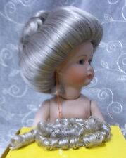 """Monique Doll Wig """"Gibson"""" Size 12-13 Color Salt & Pepper - Classic Doll Style!"""