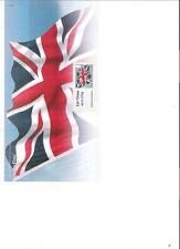 2012 royal mail post et aller drapeau de l'Union pack spécial