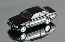 HERPA 028813 H0 1:87 Mercedes-Benz E 320 Coupe - Black - New, Many Photos