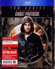 Mission Impossible GHOST PROTOCOL Blu-ray Metalpack Steelbook Target Rare MINT