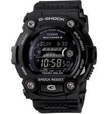 CASIO G-Shock Watch The Shoreman- Atomic Solar-Tide Black Shock Res GW7900B-1