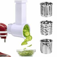 Slicer Shredder Attachments for KitchenAid Stand Mixer Cheese Grater Attachment