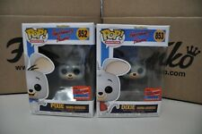 FUNKO POP! PIXE AND DIXIE NYCC 2020 Funko Shop Exclusive LE 2500 2pack