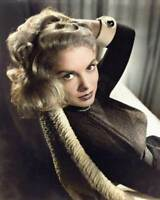 Janet Leigh 8x10 RARE COLOR Photo 600