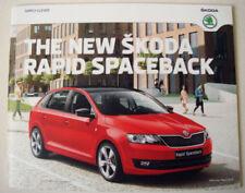 Škoda Paper 2015 Car Sales Brochures