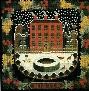 Elizabeth Bradley tapestry chart. The Winter Sampler