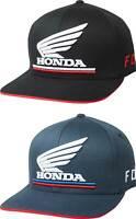 Fox Racing Honda Flexfit Hat - Mens Lid Cap Curved Bill MX MTB Motocross ATV