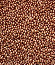 Bronze Glimmer Pearls 50g, Sprinkles, Edible, Sugarcraft, Cake Decorating,