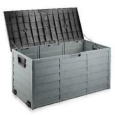 Gardeon Giantz 290L Outdoor Storage Box - Black
