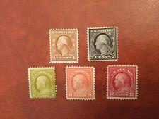 Stamps, Usa, Sc#503, 507-509,512, Mlh