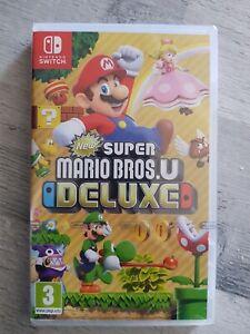 Jeu Switch Super Mario Bros U De Luxe